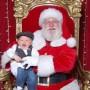 Прикольные новогодние детские фото с Дедом Морозом
