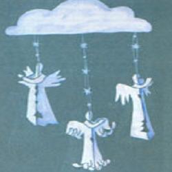 готовые бумажные ангелы