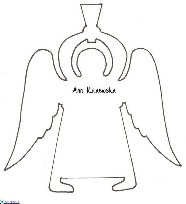 Как сделать объемного ангела из бумаги своими