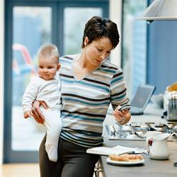распорядок дня для мамы и ребенка