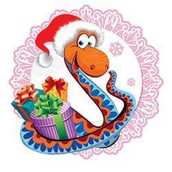 поздравительные открытки с анимацией на го Змеи 2013 фото
