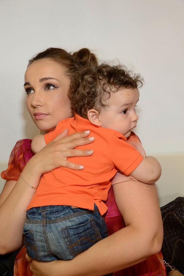 Анфиса Чехова со своим сыном фото