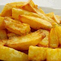 домашняя картошка фри фото
