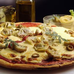 луковая пицца фото