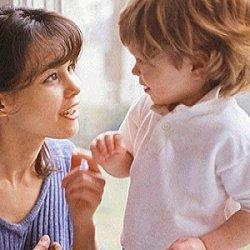 общение с ребенком фото
