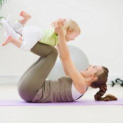 фитнес для мамы фото