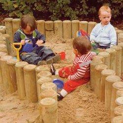 детская песочница фото