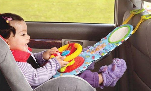 как разнообразить поездку ребенка в авто