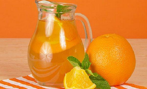 Как сделать лимонад из апельсинов в домашних условиях