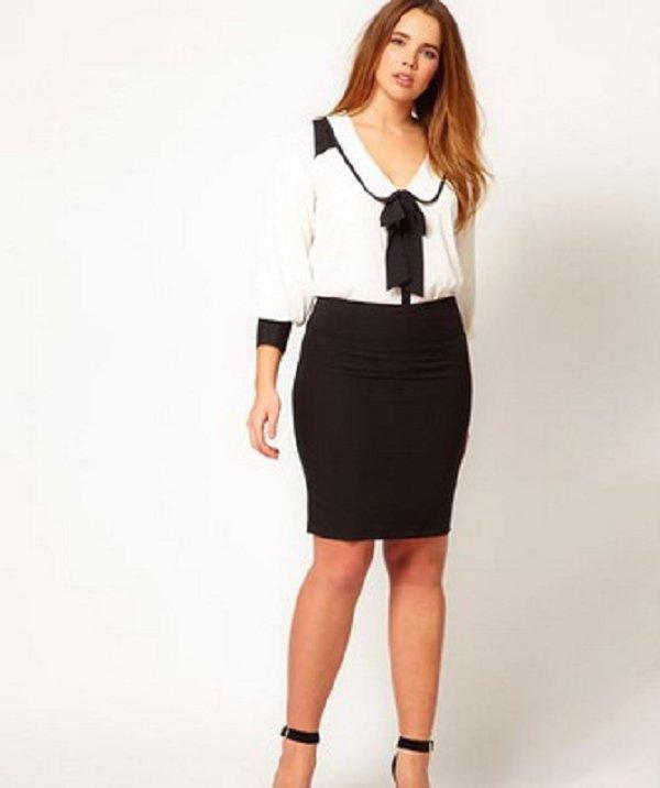 Юбки для полных женщин, как выбрать юбку для пышнотелых Расскажем про наиболее удачные юбки для полных женщин