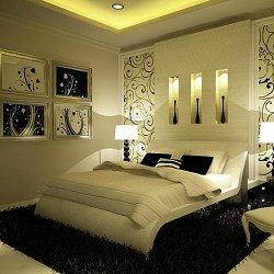 декор спальни фото