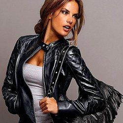 модные кожаные куртки фото