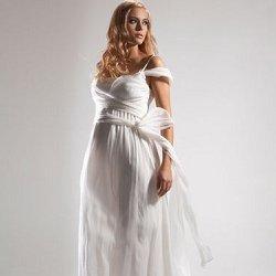 свадебное платье для беременной фото