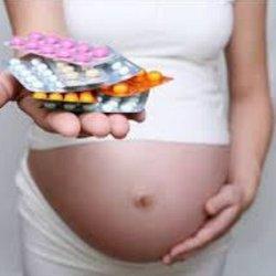 ангина при беременности фото