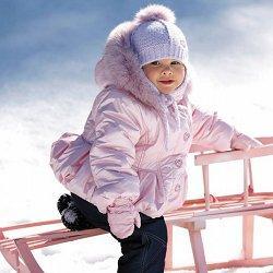 детская зимняя одежда фото