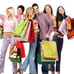 покупки для всей семьи фото