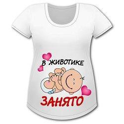 футболки для беременных фото